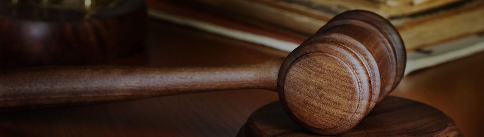 Judges Gavel Header