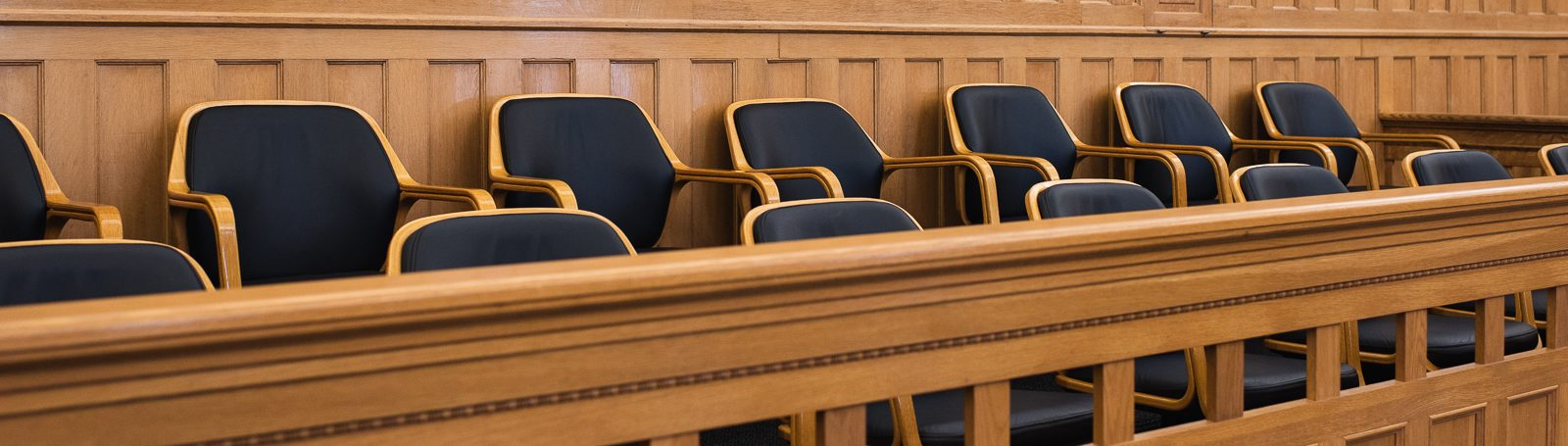 Jury bench